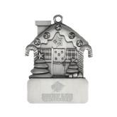 Pewter House Ornament-Saint Leo University - Official Logo Engraved