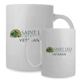 Full Color White Mug 15oz-Veteran