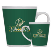 Full Color Latte Mug 12oz-Saint Leo University - Official Logo