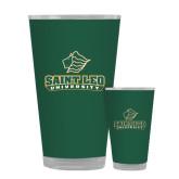Full Color Glass 17oz-Saint Leo University - Official Logo