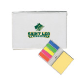 Micro Sticky Book-Saint Leo University - Official Logo