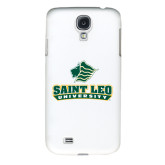White Samsung Galaxy S4 Cover-Saint Leo University - Official Logo