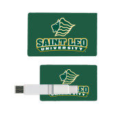 Card USB Drive 4GB-Saint Leo University - Official Logo