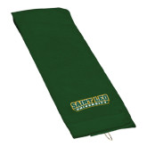 Dark Green Golf Towel-Saint Leo University