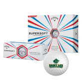 Callaway Supersoft Golf Balls 12/pkg-Saint Leo University - Official Logo