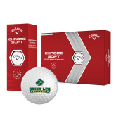 Callaway Chrome Soft Golf Balls 12/pkg-Saint Leo University - Official Logo