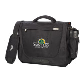 High Sierra Black Upload Business Compu Case-Saint Leo University - Institutional Mark