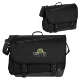 Metro Black Compu Brief-Saint Leo University - Institutional Mark