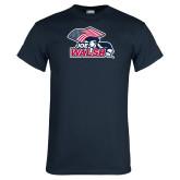 Navy T Shirt-Joe Walsh