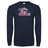 Navy Long Sleeve T Shirt-Joe Walsh