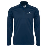 Syntrel Navy Interlock 1/4 Zip-The Dennis Prager Show