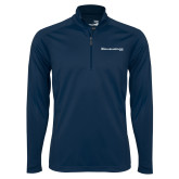 Syntrel Navy Interlock 1/4 Zip-The Michael Medved Show