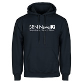 Navy Fleece Hoodie-Salem Radio Network News