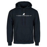 Navy Fleece Hoodie-The Dennis Prager Show