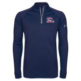 Under Armour Navy Tech 1/4 Zip Performance Shirt-Joe Walsh