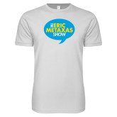 Next Level SoftStyle White T Shirt-The Eric Metaxas Show