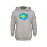 Youth Grey Fleece Hood-The Eric Metaxas Show