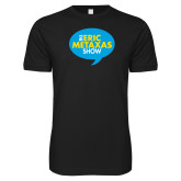 Next Level SoftStyle Black T Shirt-The Eric Metaxas Show