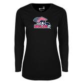Ladies Syntrel Performance Black Longsleeve Shirt-Joe Walsh