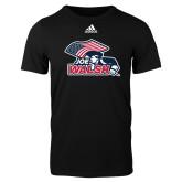 Adidas Black Logo T Shirt-Joe Walsh