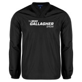 V Neck Black Raglan Windshirt-The Mike Gallagher Show