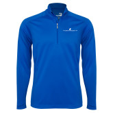 Syntrel Royal Blue Interlock 1/4 Zip-The Dennis Prager Show
