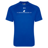 Under Armour Royal Tech Tee-The Dennis Prager Show