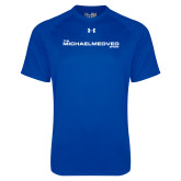 Under Armour Royal Tech Tee-The Michael Medved Show