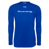 Under Armour Royal Long Sleeve Tech Tee-The Michael Medved Show