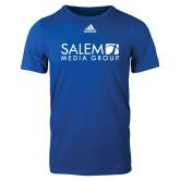 Adidas Royal Logo T Shirt-Media Group