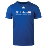 Adidas Royal Logo T Shirt-Salem Radio Network News