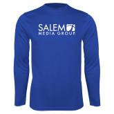 Performance Royal Longsleeve Shirt-Media Group