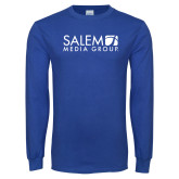 Royal Long Sleeve T Shirt-Media Group