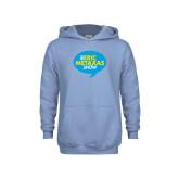 Youth Light Blue Fleece Hoodie-The Eric Metaxas Show