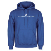 Royal Fleece Hoodie-The Dennis Prager Show