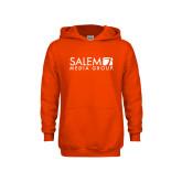 Youth Orange Fleece Hoodie-Media Group