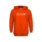 Youth Orange Fleece Hoodie-Salem Radio Network News