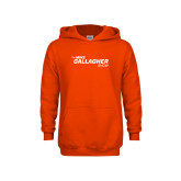 Youth Orange Fleece Hoodie-The Mike Gallagher Show