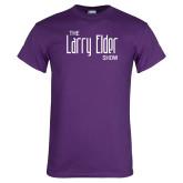 Purple T Shirt-The Larry Elder Show