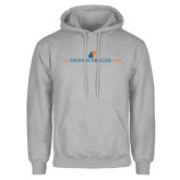 Grey Fleece Hoodie-The Dennis Prager Show