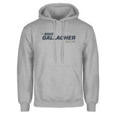 Grey Fleece Hoodie-The Mike Gallagher Show