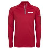Under Armour Cardinal Tech 1/4 Zip Performance Shirt-Hugh Hewitt