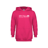 Youth Raspberry Fleece Hoodie-Salem Radio Network News