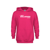 Youth Raspberry Fleece Hoodie-The Mike Gallagher Show