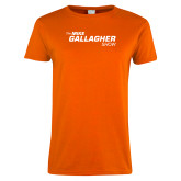 Ladies Orange T Shirt-The Mike Gallagher Show