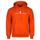 Orange Fleece Hoodie-The Dennis Prager Show