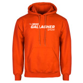 Orange Fleece Hoodie-The Mike Gallagher Show