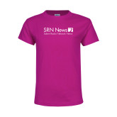 Youth Cyber Pink T Shirt-Salem Radio Network News