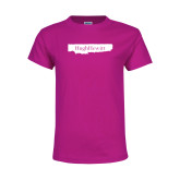 Youth Cyber Pink T Shirt-Hugh Hewitt