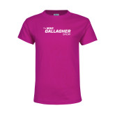 Youth Cyber Pink T Shirt-The Mike Gallagher Show